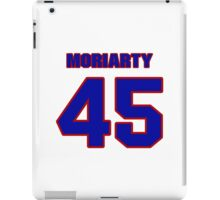 National football player Tom Moriarty jersey 45 iPad Case/Skin