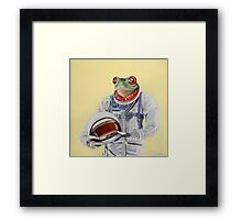 Frog Mission Framed Print