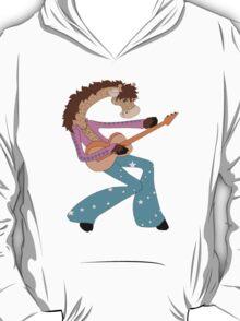 Jimmy Giraffe's Guitar T-Shirt