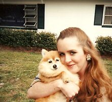 Karyn and Prissy Dog by karen66