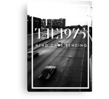 The 1975 Head.Cars.Bending Canvas Print