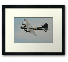 B-17 Memphis Belle replica flyby Framed Print