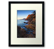 Sleepy Bay, Freycinet National Park, Tasmania Framed Print