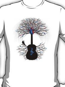 Rhythms of the Heart - ( surreal guitar art ) T-Shirt