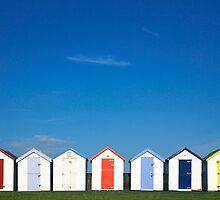 Dandy Beach Huts! by Nick Huggins