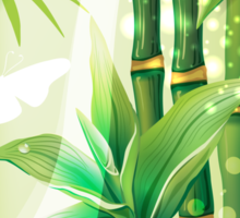 Bamboo Plants Sticker