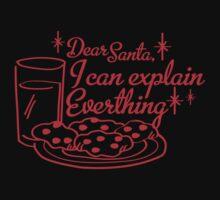 Dear Santa, I Can Explain Everything Kids Clothes