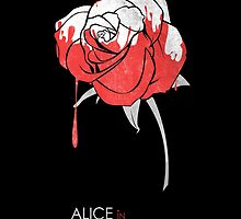 Minimalist Poster : Alice in Wonderland by Squall234