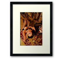 Davinia Asian Fusion Framed Print