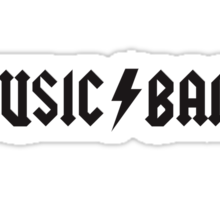 MUSIC / BAND Sticker