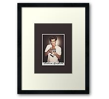 Andrew Garfield Framed Print