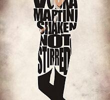 James Bond by A. TW