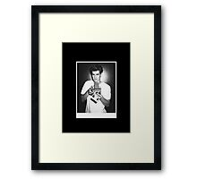 Andrew Garfield (no label) Framed Print