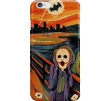 scream joker iPhone Case/Skin