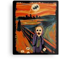 scream joker Metal Print