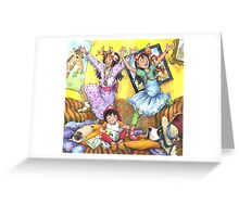 Sisters!!! -small image, cards Greeting Card