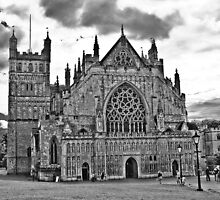Exeter Cathedral by Johninmula