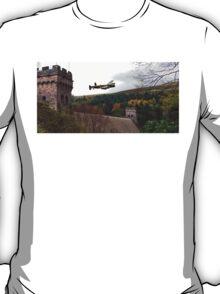 Lancaster VR-A at the Derwent Dam T-Shirt