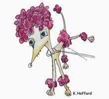 Pink Poodle by Hoffard