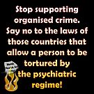 Stop the organised crime by Initially NO