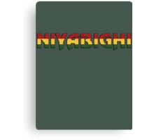 Niyabighi Canvas Print
