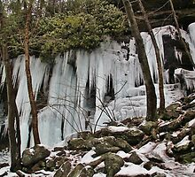 Icy Curtains by Tim Holmes