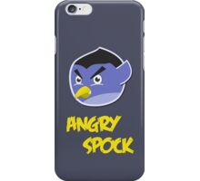 Angry Spock iPhone Case/Skin