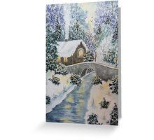 Winter Glory Greeting Card