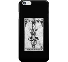 The Hanged Man Tarot Card - Major Arcana - fortune telling - occult iPhone Case/Skin