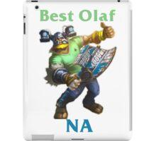 Best Olaf NA iPad Case/Skin