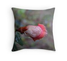 Pea Bud Throw Pillow