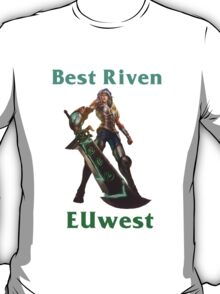Best Riven EUwest T-Shirt