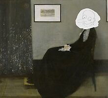 Whistler's Mother - Mr. Bean by andraskiss