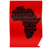AFRICA ONE LOVE Poster