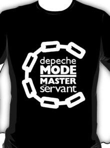 Depeche Mode : Master And Servant - White T-Shirt