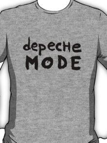 Depeche Mode : I Feel You font - black T-Shirt