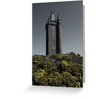 Scrabo Towering Greeting Card