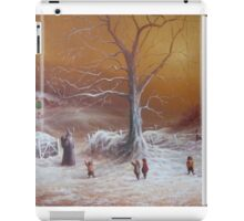 The Shire First Snowfall iPad Case/Skin