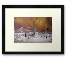 The Shire First Snowfall Framed Print