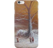 The Shire First Snowfall iPhone Case/Skin