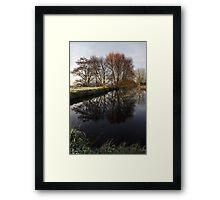 A Country Pond Framed Print