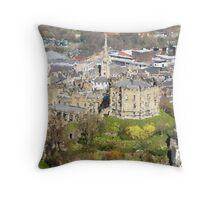 Durham Castle Throw Pillow