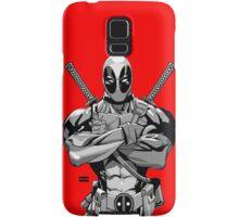Deadpool B&W Samsung Galaxy Case/Skin