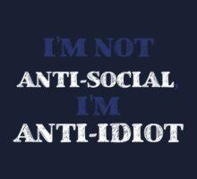 Anti-Idiot Kids Clothes