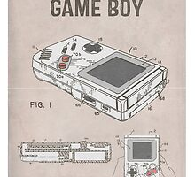 Gameboy Patent by AquanautStudio