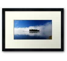 Little Island Framed Print
