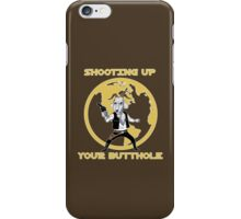 Shooting Up Your Butthole iPhone Case/Skin