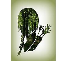 Katniss Everdeen in the Woods Photographic Print