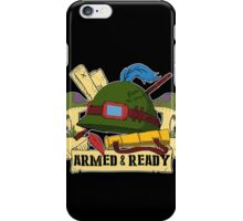 Armed and Ready - Teemo tattoo style iPhone Case/Skin