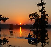 Day's End at Lake Martin by Bonnie T.  Barry
